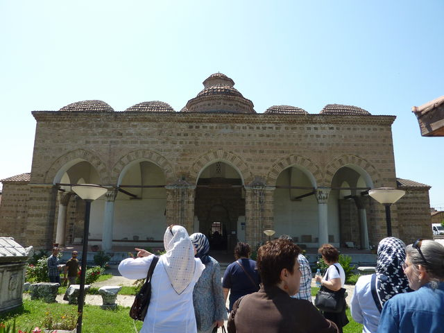 The Iznik museum with stunning pottery examples inside (though no photos allowed)